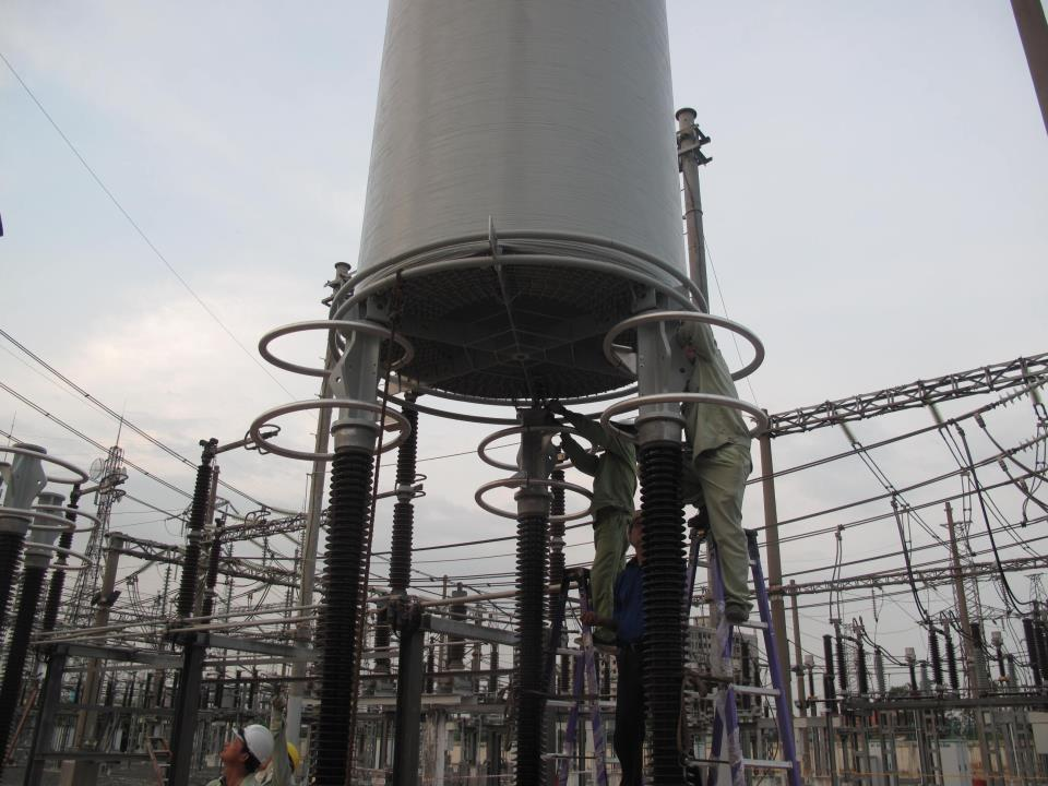 Outdoor simple phase, Dry, Type air-core curent limiting Reactor